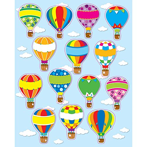 9781609960667: Hot Air Balloons Shape Stickers