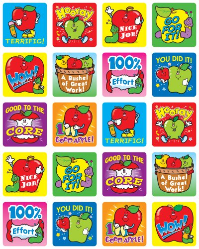 9781609961091: Apples Motivational Stickers