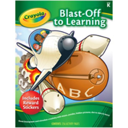 crayola early learning activit by activity book carson dellosa