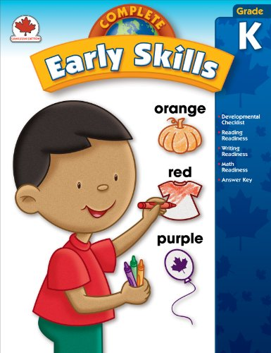Complete Early Skills, Grade K: Canadian Edition (Total Basic Skills)
