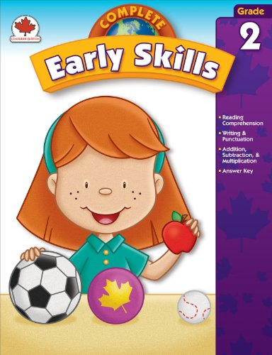 Complete Early Skills, Grade 2: Canadian Edition (Total Basic Skills)