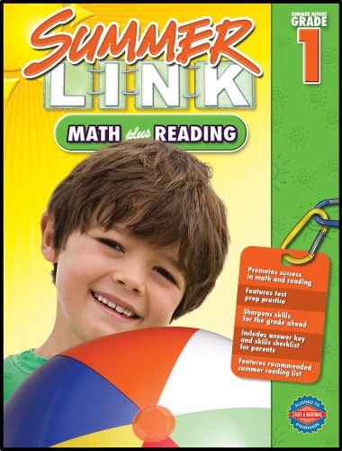 9781609961916: Math plus Reading, Grades K - 1: Summer Before Grade 1 (Summer Link)