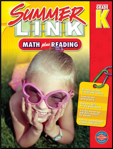 9781609961985: Math plus Reading, Grades PK - K: Summer Before Grade K (Summer Link)