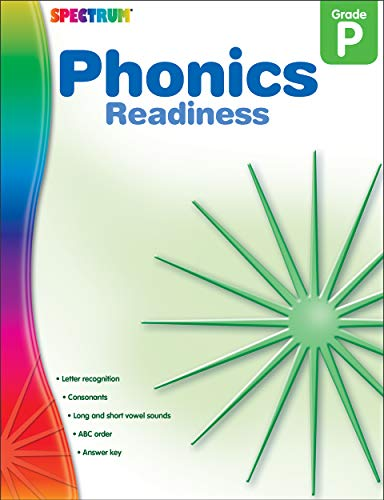 9781609962043: Phonics Readiness, Preschool (Spectrum Early Years)