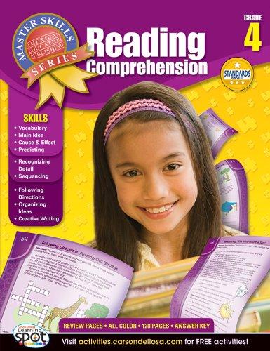 9781609962654: Reading Comprehension, Grade 4 (Master Skills)