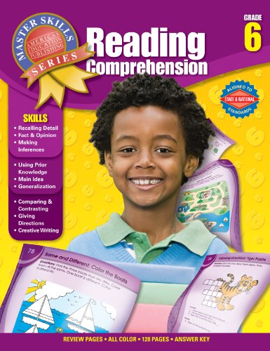 9781609962678: Reading Comprehension, Grade 6 (Master Skills)