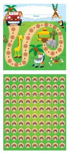 9781609964092: Jungle Safari Mini Incentive Charts