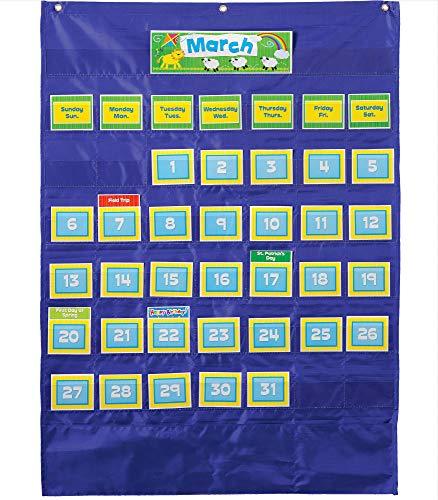 9781609964153: Deluxe Calendar Pocket Chart