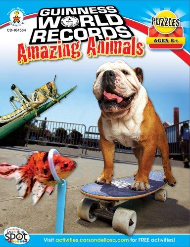 9781609964610: Guinness World Records® Amazing Animals, Grades 3 - 5