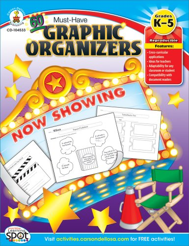 9781609964733: 60 Must-Have Graphic Organizers, Grades K - 5