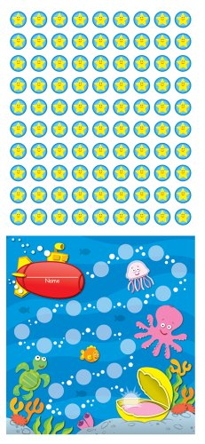 9781609965051: Sea Life Mini Incentive Charts
