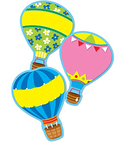 9781609965655: Hot Air Balloons Cut-Outs