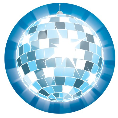 9781609966362: Disco Ball Two-Sided Decoration