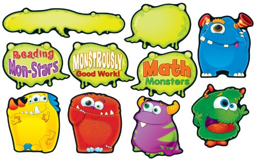 9781609968342: Monster Talkers Bulletin Board Set