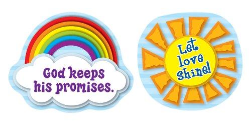 9781609968502: Carson Dellosa Let Love Shine Shape Stickers (168084)