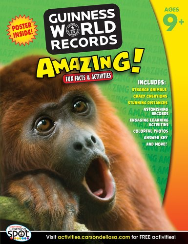 9781609968953: Amazing!, Grades 4 - 6: Fun Facts and Activities (Guinness World Records®)