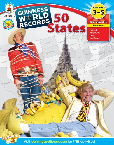 9781609969462: Guinness World Records® 50 States, Grades 3 - 5