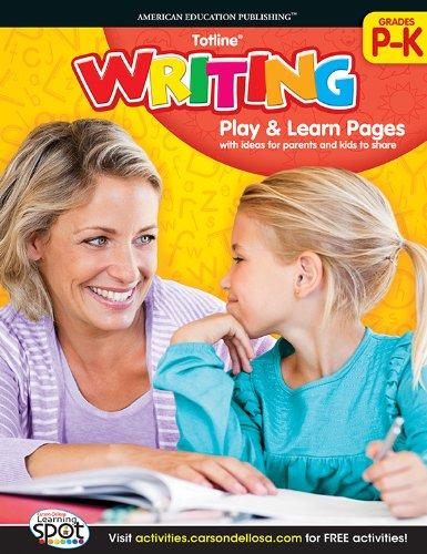 9781609969837: Writing, Grades PK - K (Totline)