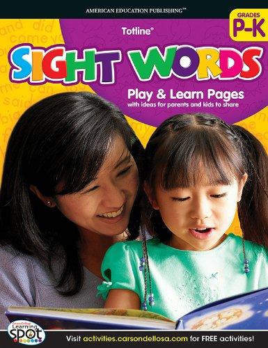 9781609969868: Sight Words, Grades PK - K (Totline)