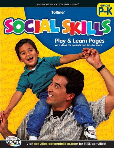 9781609969882: Social Skills, Grades PK - K (Totline)