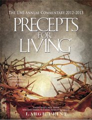Precepts for Living Large Print Commentary 2012-2013: Bacote, Vincent