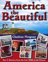 9781609990107: America the Beautiful Part 2: America from the Late 1800's to the Present