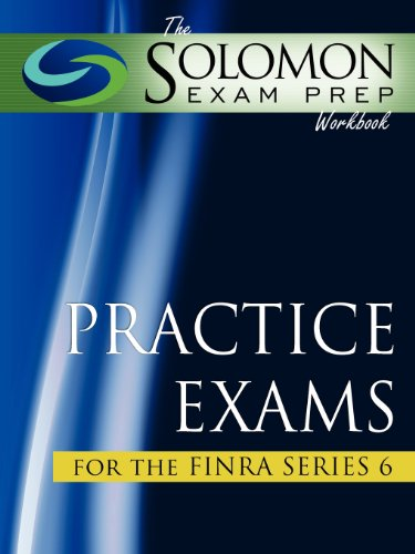 9781610070027: The Solomon Exam Prep Workbook Practice Exams for the FINRA Series 6