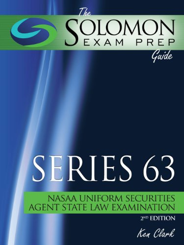 9781610070409: The Solomon Exam Prep Guide: Series 63 - Nasaa Uniform Securities Agent State Law Examination