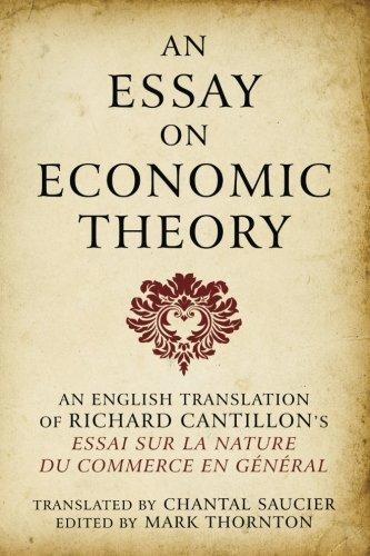 9781610160018: Essay on Economic Theory