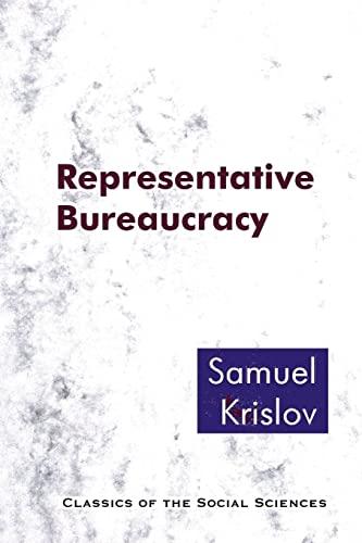 9781610271516: Representative Bureaucracy