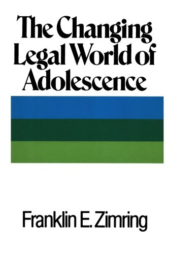 9781610272193: The Changing Legal World of Adolescence