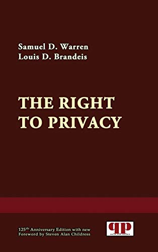 9781610278409: The Right to Privacy