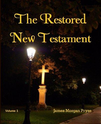 9781610334778: The Restored New Testament (2 Vol set)