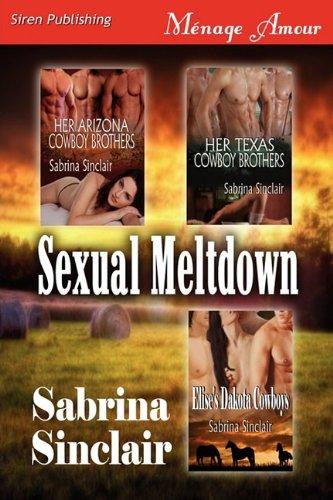 9781610342537: Sexual Meltdown [Her Arizona Cowboy Brothers: Her Texas Cowboy Brothers: Elise's Dakota Cowboys] (Siren Publishing Menage Amour)