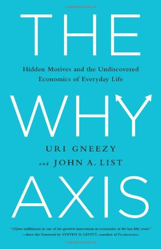 9781610393119: The Why Axis: Hidden Motives and the Undiscovered Economics of Everyday Life