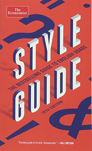9781610399814: Style Guide (The Economist Books)