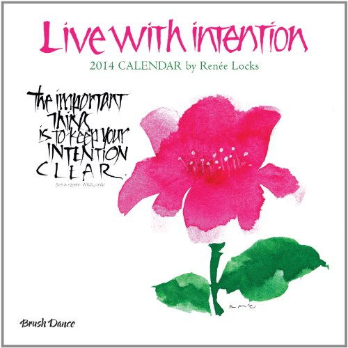9781610461399: 2014 Live With Intention Wall Calendar