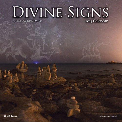 2014 Divine Signs Wall Calendar: Brush Dance Publishing