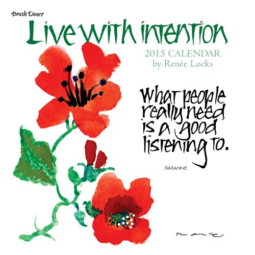9781610462358: Live with Intention Calendar