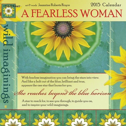 9781610462570: 2015 A Fearless Woman Mini Wall Calendar