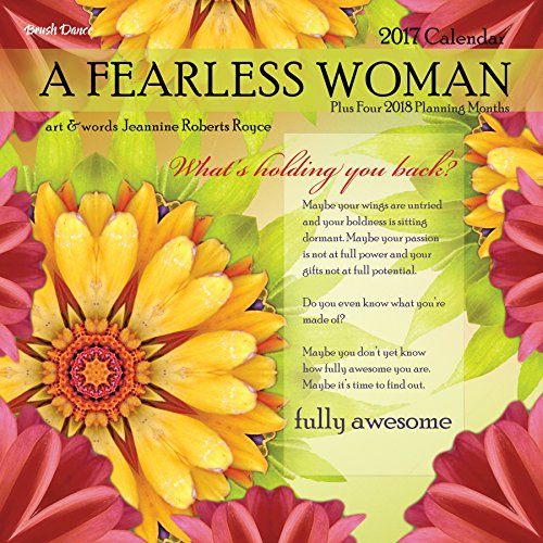 A Fearless Woman 2017 Wall Calendar