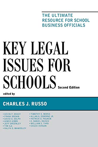 9781610485210: Key Legal Issues for Schools: The Ultimate Resource for School Business Officials