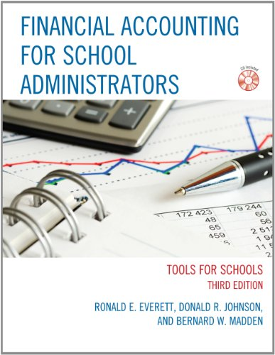 9781610487719: Financial Accounting for School Administrators: Tools for School