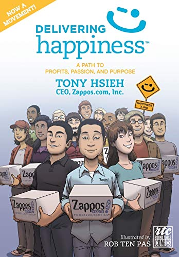 9781610660242: Delivering Happiness: A Path to Profits, Passion, and Purpose; A Round Table Comic