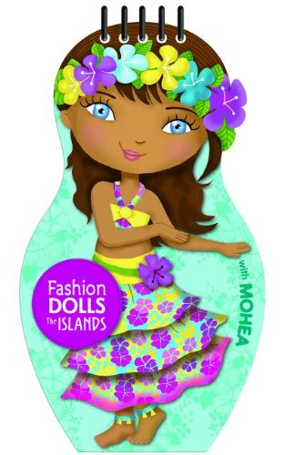 9781610670692: Fashion Dolls the Islands (Activity Book)
