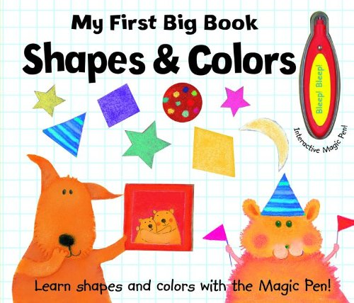 9781610670890: My First Big Book: Shapes & Colors [With Interactive Pen]