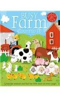 9781610671460: Busy Farm: Count to 10 (Books in Action)