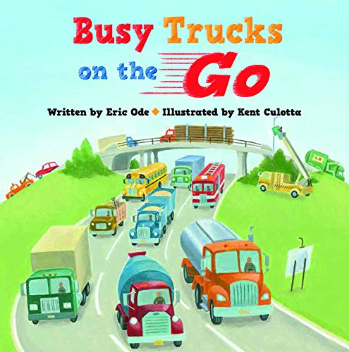9781610673136: Busy Trucks on the Go