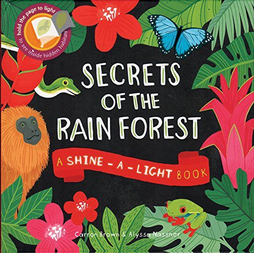 9781610673259: Secrets of the Rain Forest: A Shine-a-Light Book