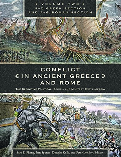 9781610690195: Conflict in Ancient Greece and Rome [3 volumes]: The Definitive Political, Social, and Military Encyclopedia